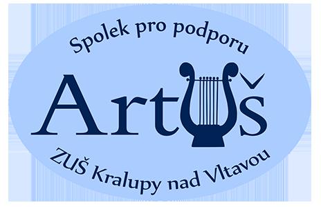 Logo občanského sdružení ArtUš